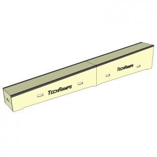 Grindbox spadkowy z kątownikiem 360cm - 30cm - 60cm  GSK360-30-60-40